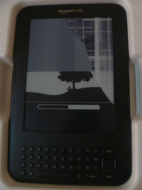That's approximately what my kindle looks like right now.